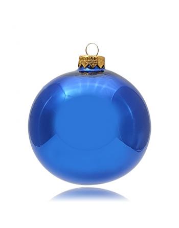 Bombka 10cm/1szt niebieski...