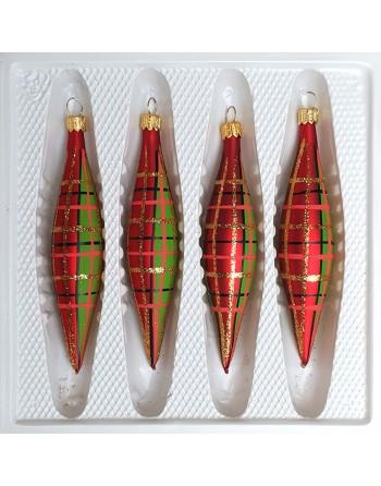 Bombka szklana dekor Sopel...