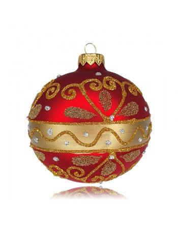 Bombka 10cm/1szt dekor...